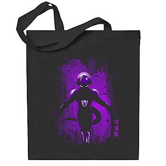 Dragonball Z Freiza Purple Splatter Totebag