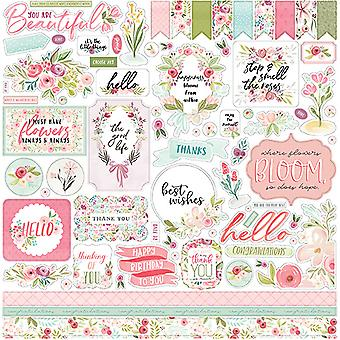 Carta Bella Flora No.3 12x12 Inch Element Sticker