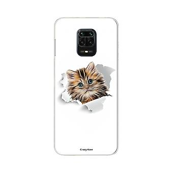 Scafo per Xiaomi Redmi Note 9 Pro Soft Cute Cat