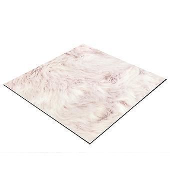 BRESSER Flatlay Baggrund til æglæggende billeder 40x40cm plys pink