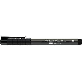 فابر كاستيل الحبر الهندي الفنان القلم فرشاة 274 رمادي دافئ V