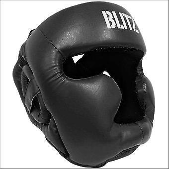 Blitz Sport Club volledige contact hoofd Guard-zwart