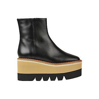 Paloma Barceló Ezbc129014 Women's Black Leather Enkellaarsjes