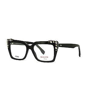 Fendi Can Eye FF0262 807 Black Glasses