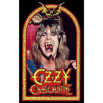Ozzy Osbourne Poster Speak of the Devil Band Logo Official 70cm x 106cm Textile