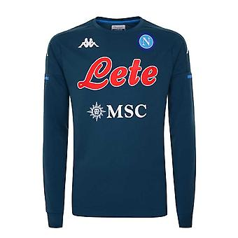 2020-2021 Napoli Training Sweat (Grünes Benzin)