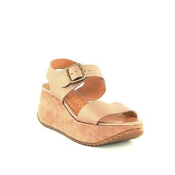 Chie Mihara | Devagar Leather & Suede Wedge Platform Sandals