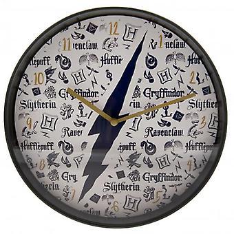 هاري بوتر جدار ساعة إنفوجرافيك