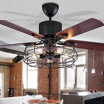 High Quality Loft Fan Chandelier Retro Dining Room Household,  Electric Fan