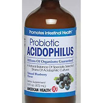 Amerikan terveys Acidophilus Culture, Mustikka 16 Fl Oz