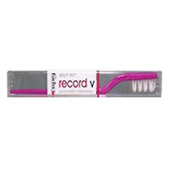 Fuchs Child/ Adult Toothbrushes Record V Nylon Toothbrush, Soft 1 EACH