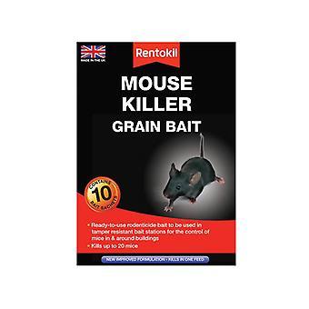 Rentokil Mouse Killer Grain Bait 10 Sachets RKLPSM22