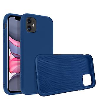 Back Cover iPhone 11 Flexible Shockproof Soft Touch SolidSuit Rhinoshield blue