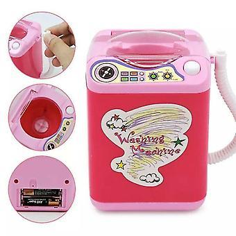 Mini machine à laver électrique- Brosses cosmétiques de maquillage d'éponge, lavage plus propre