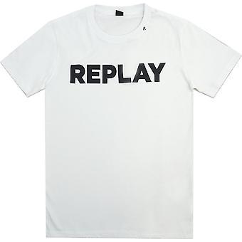 Replay T-Shirts Replay Big Logo Tee