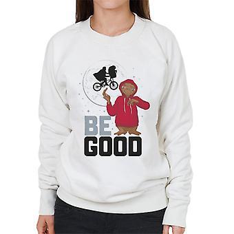 E.T. Be Good Women's Sweatshirt