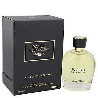 Patou Pour Homme by Jean Patou Eau de Toilette Spray (Heritage Collection) 3,4 oz (miehet) V728-537834
