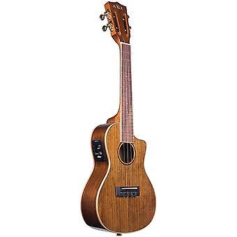 Kala ka-kcge-c hawaiian koa concert cutaway ukulele with eq