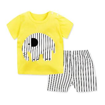 Clothes Suits Fish Style - Set Of T- Shirt And Pants (set-1)