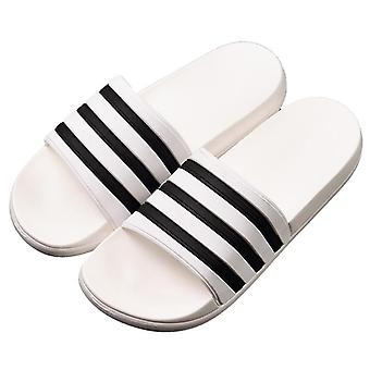 Men's Kadın Çift Parmak arası Terlik Yumuşak Şeritler Casual Yaz Terlik Ayakkabı