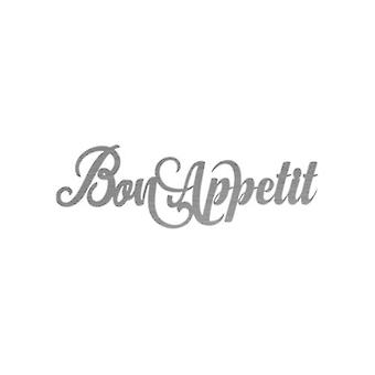 Bon Appetit Metal Sign