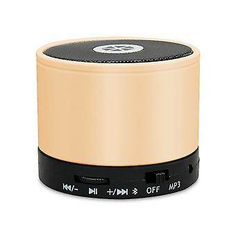Cocoon BeatX Mini Rechargeable Bluetooth Portable Speaker for Smartphone - Gold