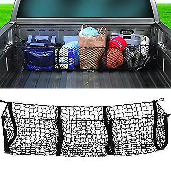 Trucks / Car Trunk Net Bag Three Grid Luggage Three-dimensional Net Pocket