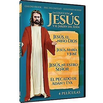 Jesus Y El Jardin Del Eden Coleccion: 4 Peliculas [DVD] USA import