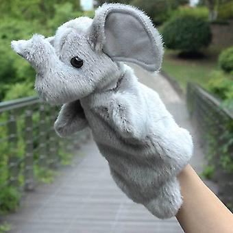 Animal Hand Puppet Plush Toy, Pretend Telling Story Prop 25cm #34
