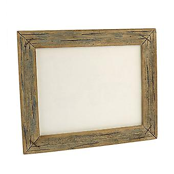 8 X 10 Horizontal Frame With Textured Details, Brown