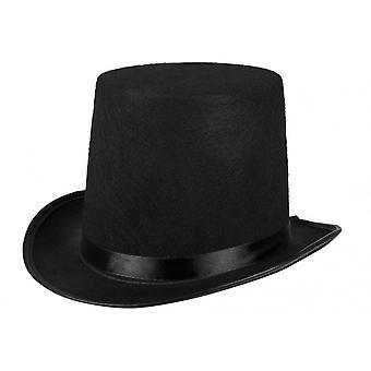 Hat Topper Felt Men's Black One Size