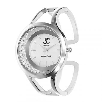 Kvinners klokke så sjarm MF396-AFA - sølv aluminium armbånd