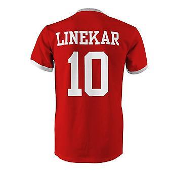 غاري لينيكر 10 إنجلترا البلد تي شيرت في المسابقة