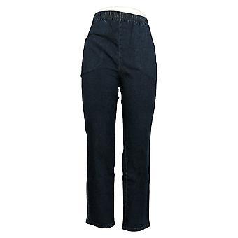 الدنيم وشركاه المرأة & apos السراويل تمتد جينز W / جيوب الأزرق A271388