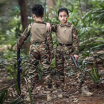 New Tactical Scouts Frog Uniforms/ Kids Tactical Multicam Uniforms/ Teenager Cp