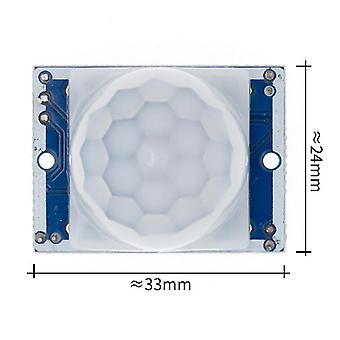 Hc-sr501 Sr505 Sr602 Adjust Ir Pyroelectric Infrared Pir Motion Sensor Detector