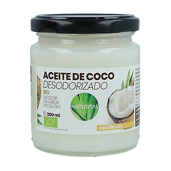 Organic Deodorized Coconut Oil 200 ml of oil