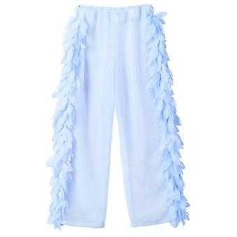 Blue Cover-up Beach Pants