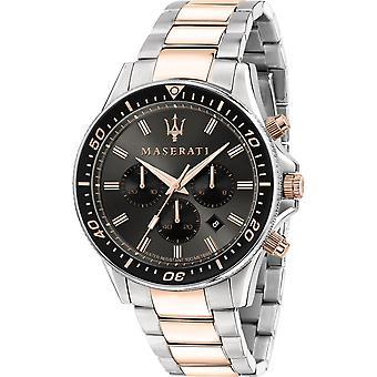 Maserati R8873640002 Men's Sfida Chronograph Two Tone Bracelet Montre-bracelet