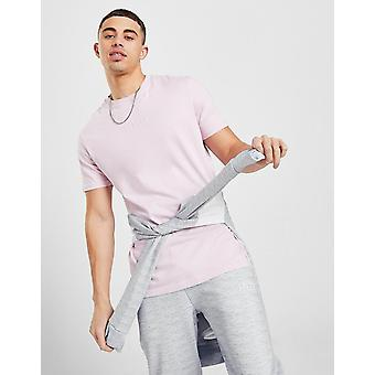 New Status Men's Stitch T-Shirt from JD Outlet Pink