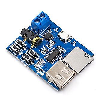 Tf Kart U Disk Mp3 Format Kod Çözücü Kartı Modülü Amplifikatör Kod Çözme Ses Çalar