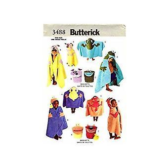 Butterick نمط الخياطة 3488 حمام الاكسسوارات حمام المناشف غسل قفازات