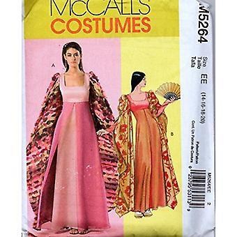 McCalls Naaipatroon 5264 Mist Spaanse Oosterse Kostuums Maat 14-20