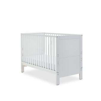 Ickle Bubba Grantham Mini Cot Bed Sprung Mattress - Brushed White