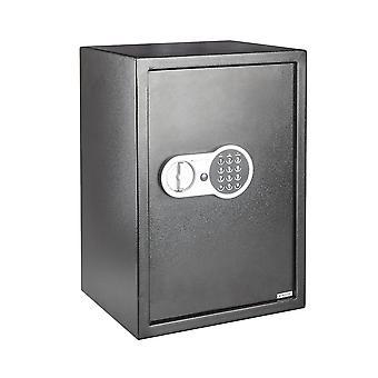 Scatola di deposito di sicurezza sicuro per l'ufficio domestico in acciaio digitale digitale - Large 43L