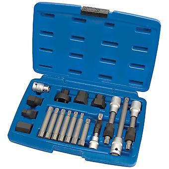 Trousse à outils Draper 31921 Expert 18 Piece alternateur poulie