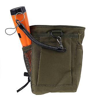 Metall-Erkennung Beutel Tasche Bagger Versorgung Schatz Taille Glück Erholung findet Tasche Pinpointer Schaufel Metall Detektor Tasche