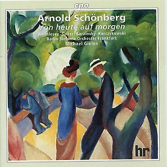 A. Schönberg - Sch Nberg: Von Heute Auf Morgen [CD] USA import