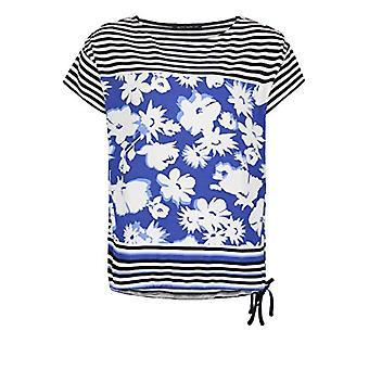 Betty Barclay 2809/2262 T-Shirt, Dark Blue/White, 54 Woman