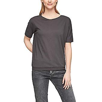 Q/S designed by - s.Oliver 510.11.899.12.130.2064173 T-Shirt, Asphalt, XS Woman